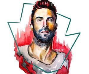maroon 5 and adam levine image