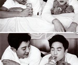 exo, junmyeon, and suyeol image