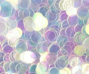 glitter and iridescent image
