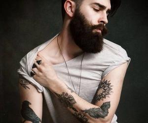 beard and fashion image