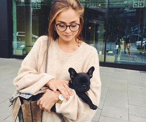 fashion, dog, and cute image