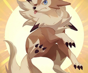 pokemon and lycanroc image