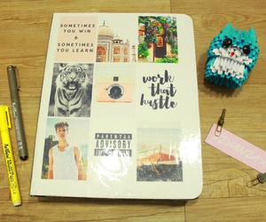 notebook, tumblr, and diy image
