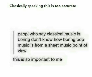 classical music, true, and tumblr image