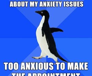 anxiety, social phobia, and awkward image