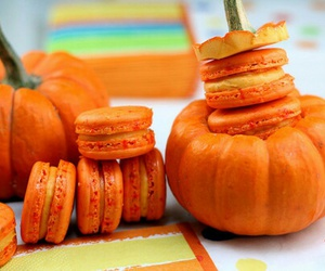 pumpkin, food, and Halloween image
