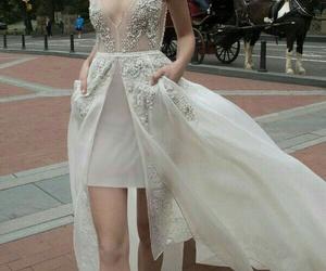 dress, elegant, and formal image