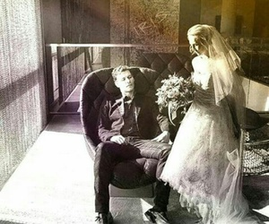 couple, The Originals, and wedding image