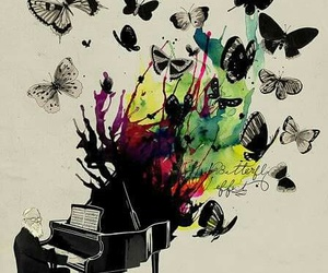 amazing, colores, and piano image