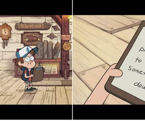 Trust No One and gravity falls image