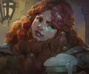 art, dwarf, and bearded image