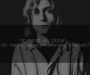 depression, kurt cobain, and traurig image