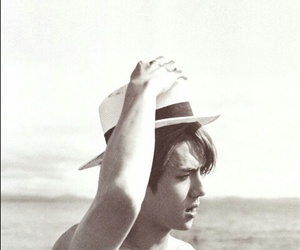 beach, handsome, and sehun image