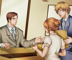 anime, anime boy, and ryan carter image
