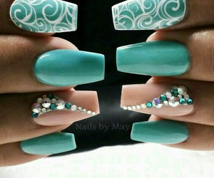manicure, nails, and style image