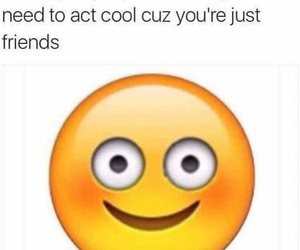 friends, funny, and jealous image