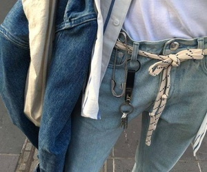 jeans, aesthetic, and style image