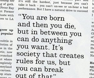 live, society, and break the rules image
