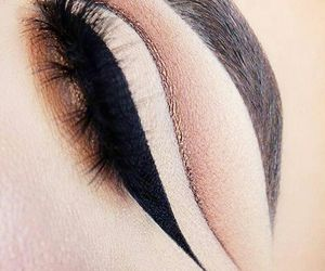 eyebrows, makeup, and brows image