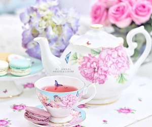 colors, pastel colors, and tea time image