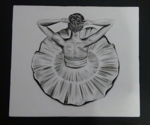 ballet, dance, and dibujo image