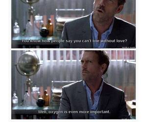 house, love, and dr house image