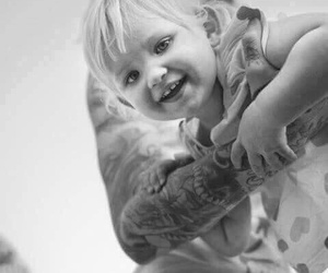 mitch lucker, suicide silence, and kenadee lucker image