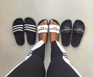 slides, Givenchy, and shoes image