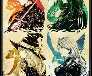 harry potter, hogwarts, and ravenclaw image