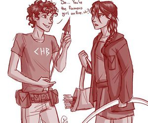 leo valdez, katniss everdeen, and katniss image