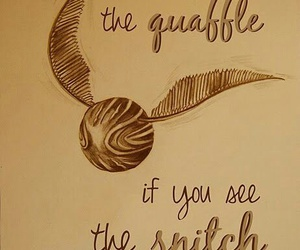harry potter, snitch, and quidditch image