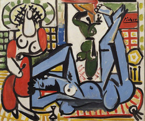 art, Pablo Picasso, and paintings image
