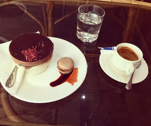 cafe, chocolat, and sweet image
