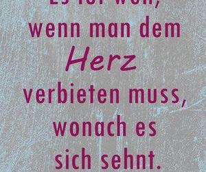 quotes, sprüche, and liebeskummer image