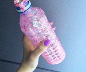 pink and bottle image
