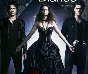the vampire diaries and Nina Dobrev image