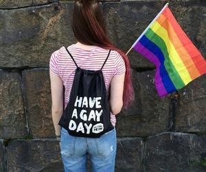 gay, gay pride, and lesbian image