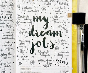Dream, journal, and diary image