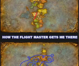 funny, world of warcraft, and wow image
