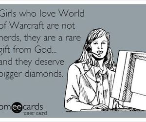 funny, girls, and world of warcraft image