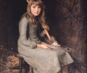art, cinderella, and John Everett Millais image