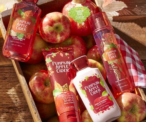 apple and fall image