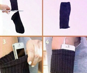 diy, socks, and tutorial image