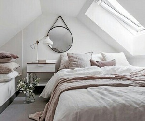 bed, inspiration, and decor image