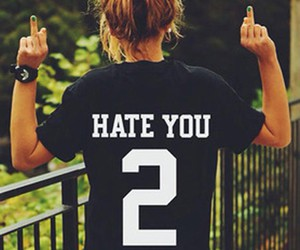 hate and cool image