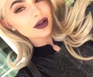 blonde, kylie jenner, and king kylie image