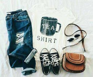 fashion, shirt, and women image