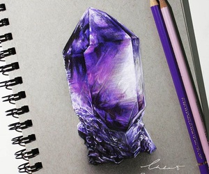art, colouring, and purple image