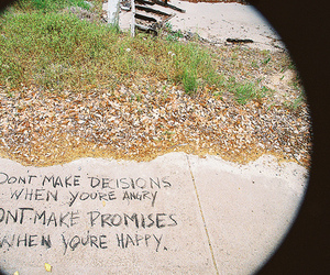quote, promise, and decisions image