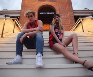 jake paul, alissa violet, and model image